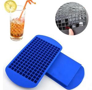 160 Сетки для приготовления кубиков льда Мини Силиконовые Ice Cube Формы Mold Tray кухни инструмент для Виски Ice Cube Плесень LJJK2031