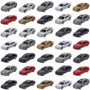 50pcs Model Car 1:87 Scala HO Train costruzione Scenery C100