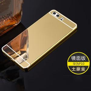 Huawei için Yumuşak Cep Telefonu Kılıf P8 P9 P10 P20 Pro Lite Plus, Onur 8 9 10 Çal Lite 8 9 10 Lite 2017 ayna Ultra ince Kapak Mate