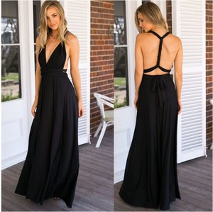 Sexy Women Maxi Club Dress Red Bandage Long Dress Party Multiway Bridesmaids Convertible Infinity Robe Longue Femme
