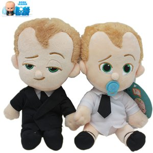 20CM dos desenhos animados The Boss bebê Commonwealth Beanie Diaper Puppy Dog TV Movie caracteres boneca de pelúcia macia Bichos de pelúcia brinquedos de pelúcia 1214