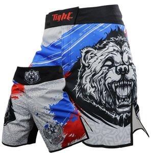 Calças Muay Thai Boxe Training Academia Boxing Shorts Muay Thai baratos Shorts Kickboxing Trunks