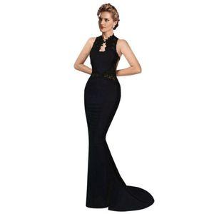 Mulheres Hot Vintage Lace Longo Formal Clube vestido de festa vestido de noite Trumpet Vestido estilo sereia vestidos de fiesta