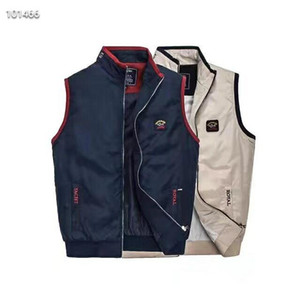 New Thai Shark Winter Ultra Light Duck Down Vest Men's Cotton Waistcoat Thin Short Cotton Sleeveless Jacket Coat Goose Vest Down Vest