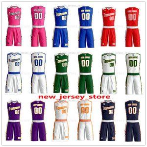Fertigen Sie jeden möglichen Namen können beliebig viele Mann-Frauen-Dame Jugend-Kind-Jungen-Basketball-Trikots Sport Shirts Wie die Abbildungen Sie ZZ0169 Angebot