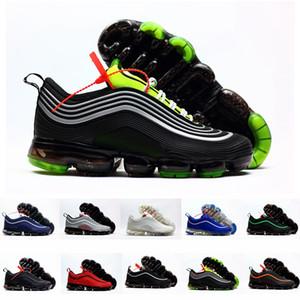 Новый VPM 97 plus KPU Черный Белый Зеленый пар Мужские кроссовки для мужчин Air Air Дизайнерские кроссовки 97s Спортивные кроссовки Размер 13 Макс