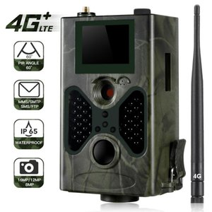 HC330LTE 4G Trail Kamera Jagd-Kamera 16MP 1080P SMTP SMS Infrarot-Kameras IR-Tier-Spiel Trail Cameras Foto Traps 8