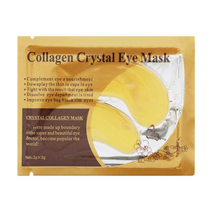 Коллаген Gold Crystal Eye Mask Маска для лица против темных кругов Eye Patches для 50pairs Care Eye Cream Увлажняющий