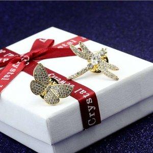 Hommes Femmes Broche Pins pleine CZ bijoux broches classiques Broches Manteau Robe Chapeau Foulard Pins de haute qualité nouvelle mode