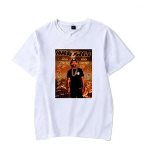 Hombres 2019 nipsey hussle Rap Tshirts Mens Summer White Printed Casual Street Basic Tees Short Sleeved