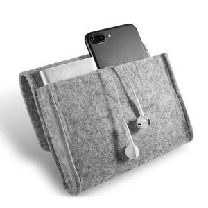 화장품 가방 홈 스토리지 조직 현황 주요 동전 패키지 미니 파우치 이어폰 SD 카드 전원 은행 데이터 케이블 여행 주최자 펠트
