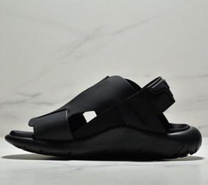Calientes de los hombres Venta-Y3 mujeres multitud adolescente perezoso sandalias de fondo Y3 zapatillas de verano de gran tamaño US36-45