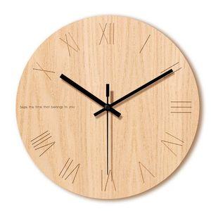 Living Room Creative Art Design Tempered Glass Clock Home Stereo Printing Digital Clock Modern Minimalist Large Wall Clocks