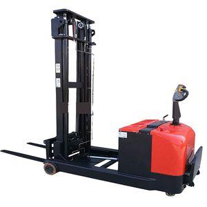 transportation tool 1 Ton Full Electric Pedestrian Pallet Stacker forklift 24V 210AH 24V DC Driving cargo machinary