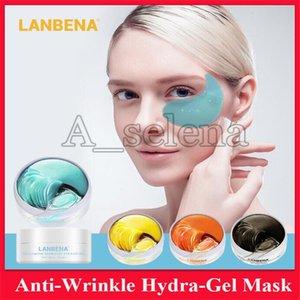 LANBENA collagene Crystal Eye Mask Anti Dark Circle il gonfiore degli occhi Bag Hydra-Gel Eye Patch anti-aging Idratante Cura Maschera 4 stili