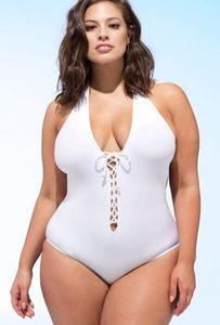Sport und Big larg harte Beutel Bademoden dicke Frau zufällig Fett Druck ein Stückes gefalteter hohe Taille Bikini 2019 Bikini-Sätze Dreieck Sexy