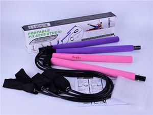 aparatos de gimnasia Pilates Multi palo tirón funcional Pilates Yoga stick tirón del edificio del cuerpo portátil hasta palo de ejercicios de resistencia
