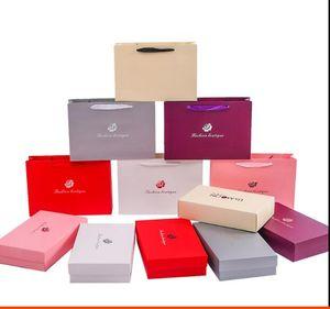 10pcs lot Packaging carton wholesale spot underwear scarf packaging box high grade gift box custom printed logo