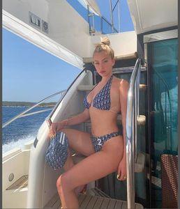2020 Sexy taille haute Ensemble bikini Maillots de bain Maillot de bain femme Push Up Femmes Halter Top Bikini Maillot de bain Beachwear Biquini