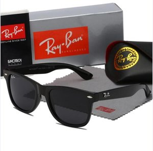 High Quality New Ray Men Women Sunglasses Vintage Pilot Brand Sun Glasses Band Polarized UV400 Bans Ben Sunglasses With Box and Case 2140