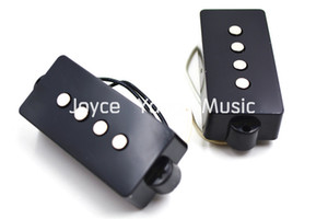 1 conjunto de 2pcs Preto / Branco PB corda 4 Electric Bass Pickups Para FD Precision Bass Pickups