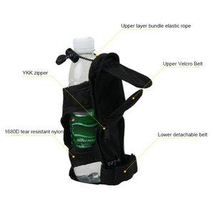 Portable Water Bottle Holder Belt Carrier Pouch Multifunctional Foldable Backpack Hanger Camping Hiking Kettle Umbrella Holder