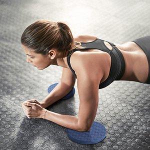 2Pcs Yoga piatto di supporto Pad ispessite TPE gomito ginocchio polso Protezione rotonda antiscivolo Yoga Materassino ginnico Fitness