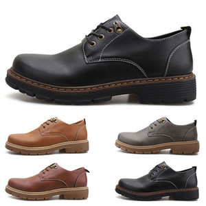 Fashion Large size 38-44 new men's leather men's shoes overshoes British casual shoes free shipping Espadrilles four