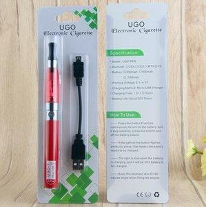 المرذاذ الأنا تي بطارية 650 مللي أمبير نفطة الساخنة من خلال بداية كاتب CE4 حزمة مع تمرير واحد مايكرو USB EVOD UGO القلم Vape CiGigt Electro CXBC