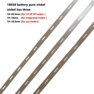 Cheap Battery Accessories 18650 battery pure Cylindrical LiFePo4 LiMn2O4 LiCoO2 cell connect the nickel belt 18650 nickel bus bar