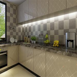 Usine de meubles en gros Rénovation Stickers Chambre Cuisine Salon étanche Fond d'écran auto-adhésif Stickers muraux