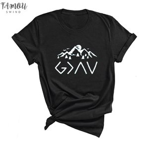 God Is Greater Than The High And Print The Lows Tshirt Christian Apparel Tees Harajuku T Shirts Religious Jesus Clothing Faith Tumblr