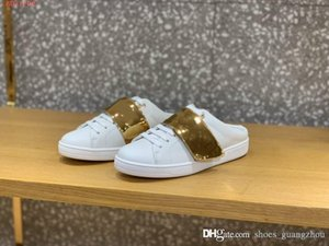 Leather sports white shoes Casual color matching Semi-skid sneaker Can be used with a of clothes Women sports slippers