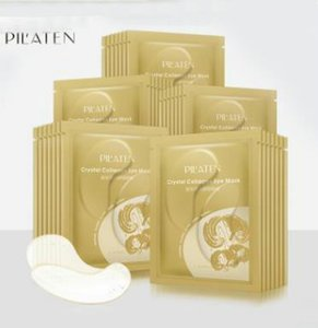 PILATEN Crystal Collagen Eye Mask hot sale Anti-puffiness Dark circle Anti wrinkle moisture For Eyes Care Free shipping