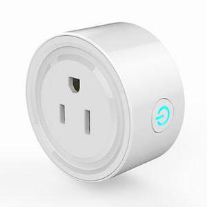 WIFI inteligente plug sincronismo Tomada sem fio US plug mini controle remoto Tuya tomada vida Smart WiFi sem fio para Página inicial do Google