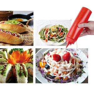 Кухня бутыль Приправа Приправа Соус Уксус Кетчуп Диспенсер Salad Dressing Cookling масло бутылки Kitchen Gadgets