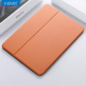 스마트 절전 기능 (11) 2018 프로 iPad 용 받침대 얇은 커버와 X-레벨 가죽 플립 케이스를 들어 아이 패드 프로 (11) 12.9 인치