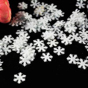 Beyaz kar taneleri kabarık kar tanesi Konfeti kış konfeti, düğün konfeti, kar konfeti Dokumasız Karları 100pcs / lot