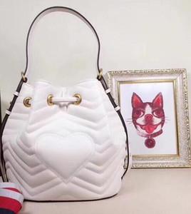 Model 476674 marmont high brands genuine leather handbags designer women bucket handbags Tote Bag