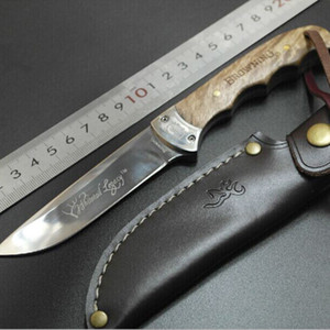 Browning Shadow Wood Straight Knife Holzgriff Feststehende Messer Jagdmesser Outdoorixed Blade Knife Survival Straight Knife