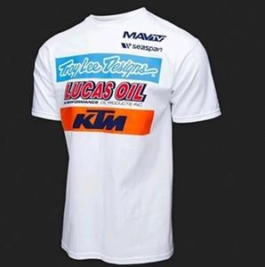 KTM queda terno velocidade verão ciclismo Jersey mangas curtas montanha off-road de moto equitação terno t-shirt camisa do costume dos homens