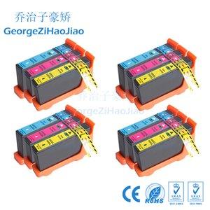 12 ADET CMY LM100 100XL Mürekkep Kartuşu için Uyumlu 108XL Lexmark S305 / S405 / S505 / S605 / Pro205 / 705/805/905 Yazıcılar 3