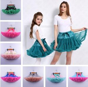 Yaz Kadın Kız Tutu Etek pettiskirt Lolita Petticoat Ayarlanabilir Elastik Parti Bale Elbise Kabarık şifon Tutuş Prenses Etek D61608