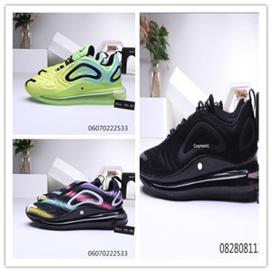 2020 nike air max 720 Total Eclipse Sea Forest 720 Hommes Femmes Chaussures De Course Northern Lights Noir Or Red Sunrise Hommes Baskets Sport Sneaker 36-45