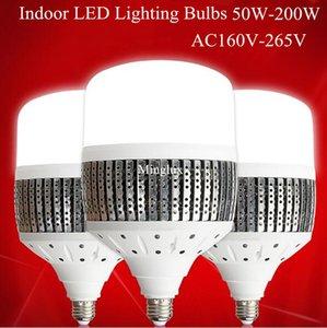 빔 각도 180도 AC220 AC240V AC265V 높은 전력 조명 애플리케이션을위한 E40 E27 200W 실린더 2835SMD LED 전구