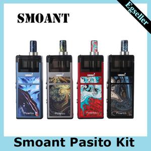 Smoant Pasito Pod Kit 25W 1100mAh Batterie-Kasten Vape Mods 3 ml Patrone Unterstützung RBA MTL DTL Mesh-Kits-0268131