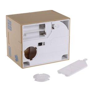 Hot Adorable Money Box Cat Stealing Piggy Bank Cat Eat Creative Coin Bank Safe Box Safes Saving Money Gifts for Kids Super Cute