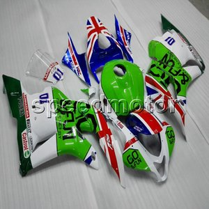 Подарки + винты Литьевая форма зеленый белый мотоцикл Обтекатель корпуса для HONDA CBR600RR 2009 2010 2011 2012 F5 ABS моторных панелей