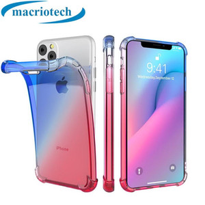 New Type of Incremental Color Pro Quadrangular Anti-falling iPhone XR Mobile Shell Applicable to iPhone 11