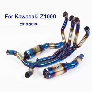 Kawasaki Z1000 Ninja 1000 2010-2019 Motosiklet Tam Egzoz Susturucu Boru İçin